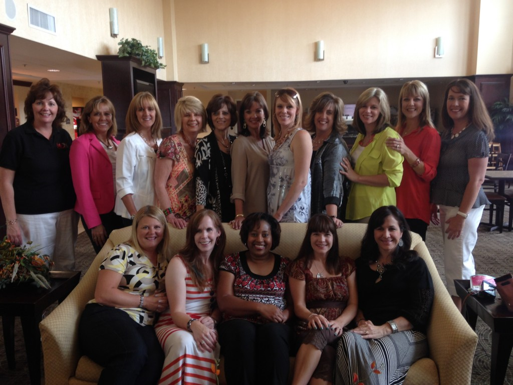 Some of the speaking team at the hotel on the first day.