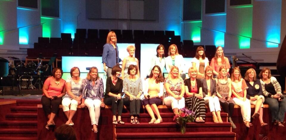 The mom team at our panel session on Saturday afternoon.