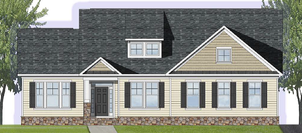 Wilmington Model Elevation 2