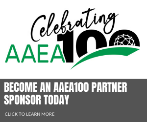 Become an aaea100 partner sponsor today