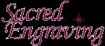 Sacred Engraving Logo