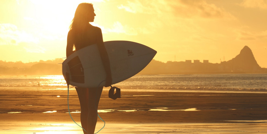 """Swimming & surfing… Natural """"action meditation"""" for 86,000,000 Americans who love water sports, sun, fitness & freedom!"""