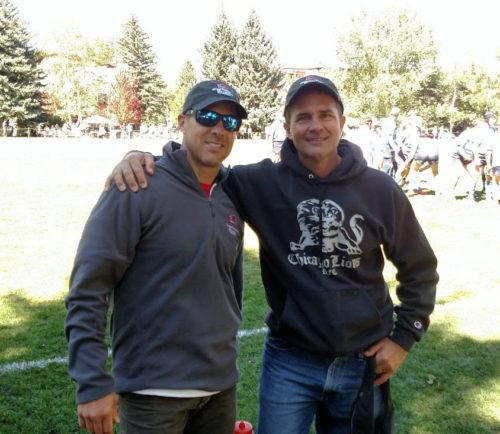 Paul Hadden and Mark Kaufman