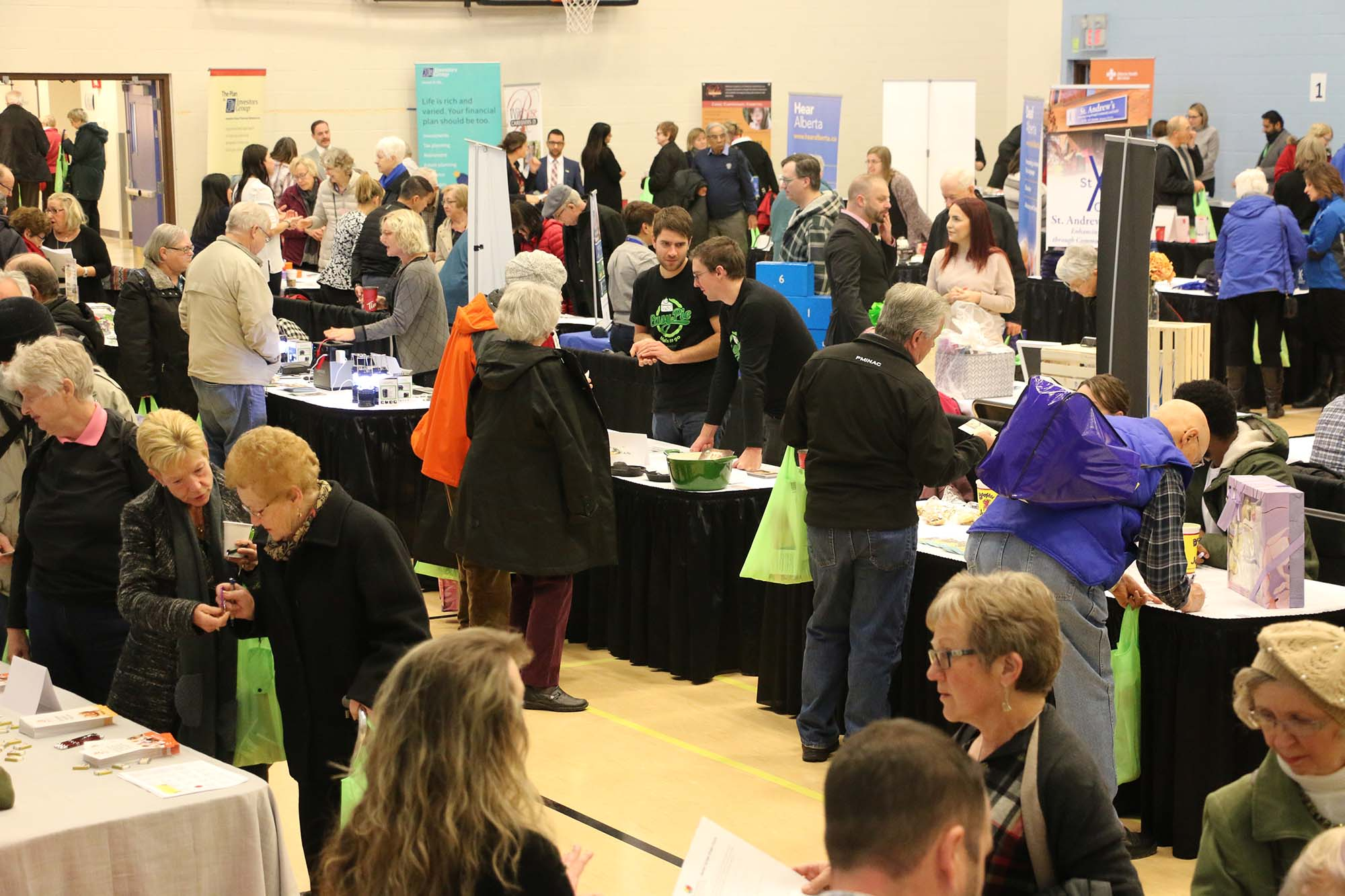 Seniors find resources at Edmonton Seniors' Health and Wellness Forum