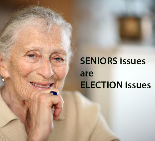Seniors issues are election issues