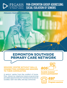 Edmonton Southside Primary Care Network: Seniors' Centre Without Walls profile