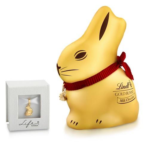 Gold Bunny e caixinha Vivara