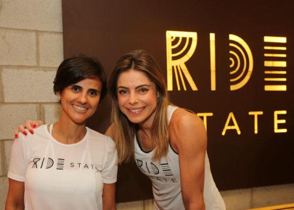 A sócia da Ride State, xx, e Daniela Cicarelli