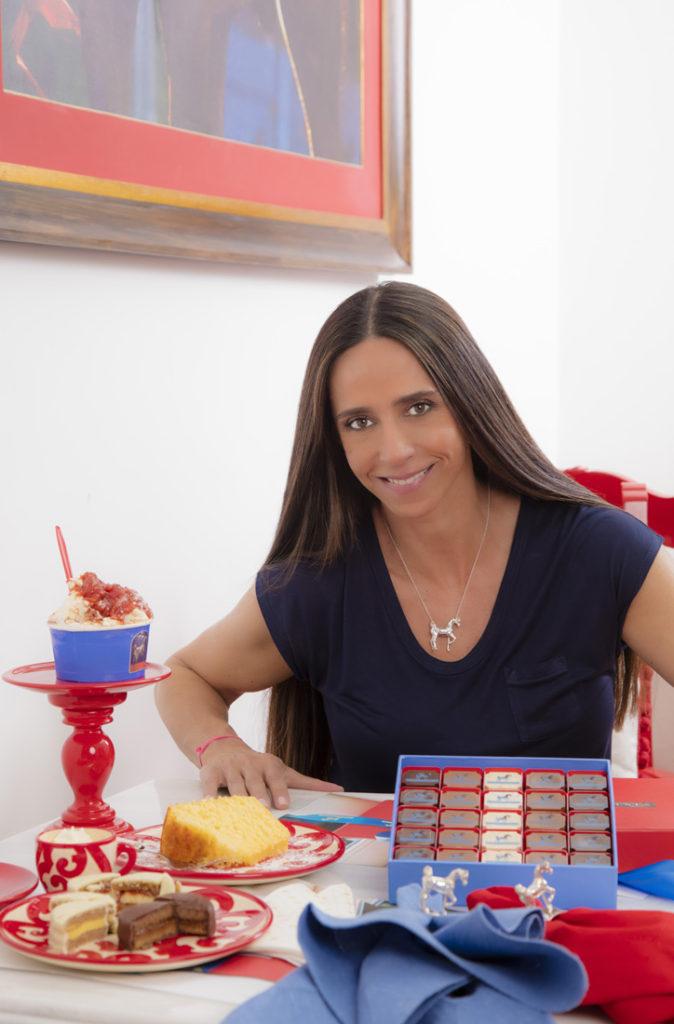 Luciana Fasano, a idealizadora da casa