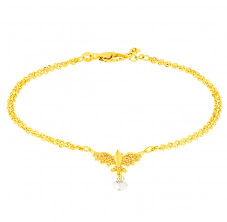Luxo acessível: as pulseiras em ouro 18k da Aubra Joias