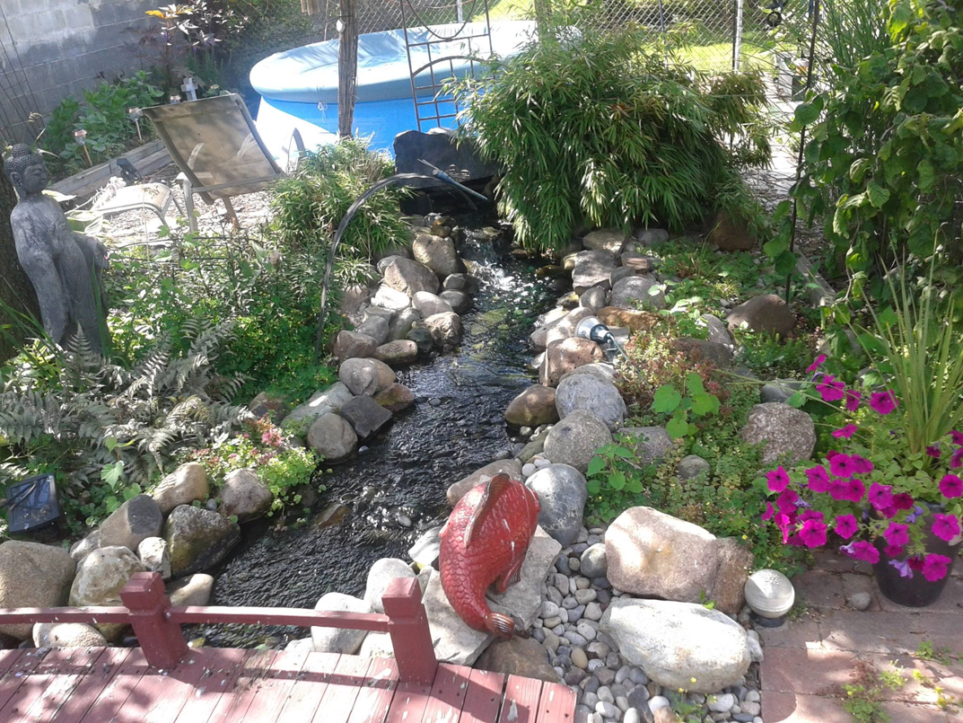 ponds and waterfall builders