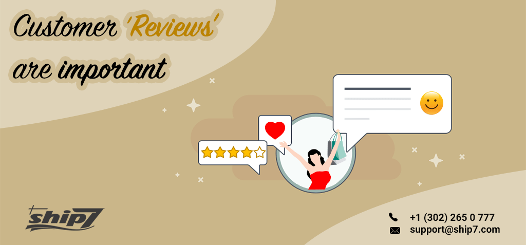 Are business reviews important for an e-commerce domain?