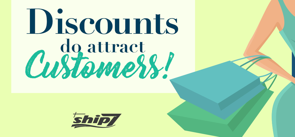 Are discounts important for new customers?