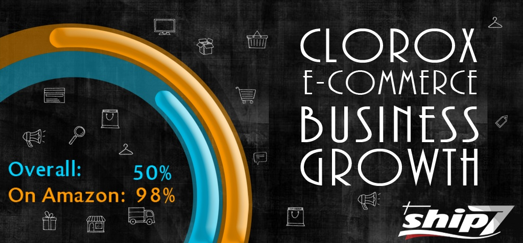 Clorox e-commerce business grow by 50% overall and 98% on Amazon alone