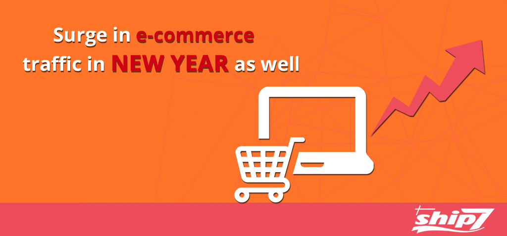 Surge in E-Commerce Traffic in New Year As Well