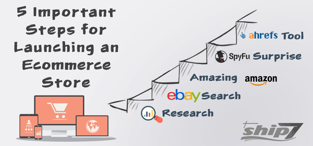 5 Important Steps for Launching an Ecommerce Store