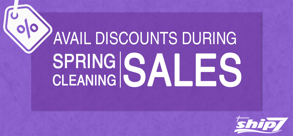 Avail discounts during Spring Cleaning Sales