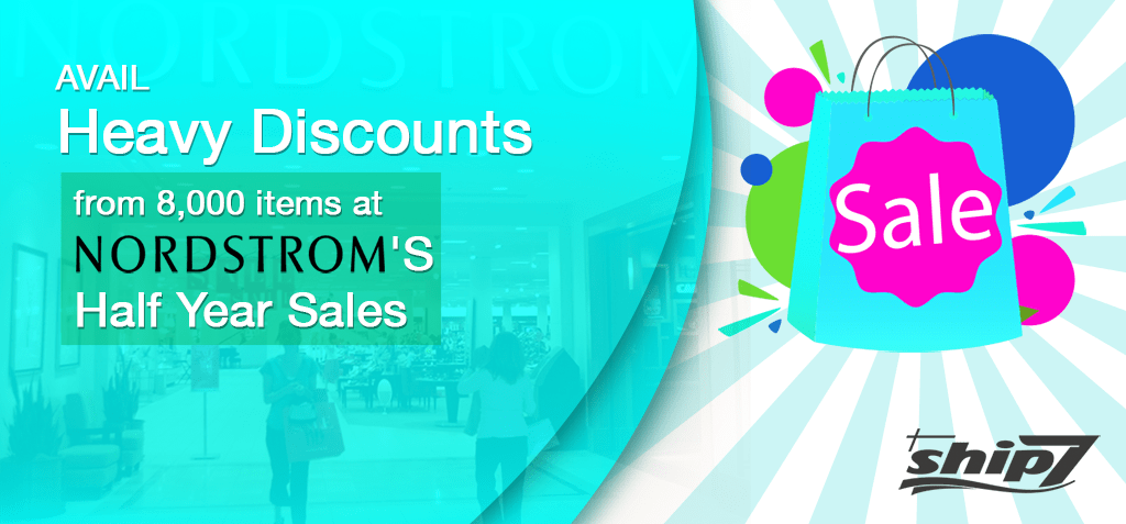 Avail Heavy Discounts from 8,000 items at Nordstrom's Half Year Sales