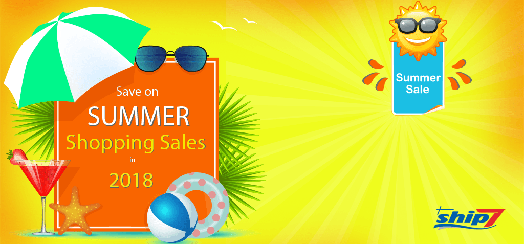 Save on Summer Shopping Sales in 2018