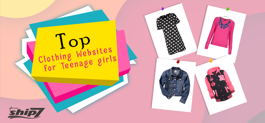 Top Clothing Websites for Teenage Girls