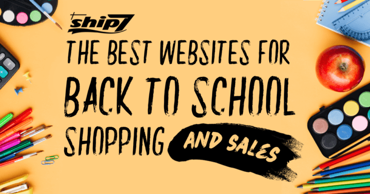 The Best Websites for Back to School Shopping
