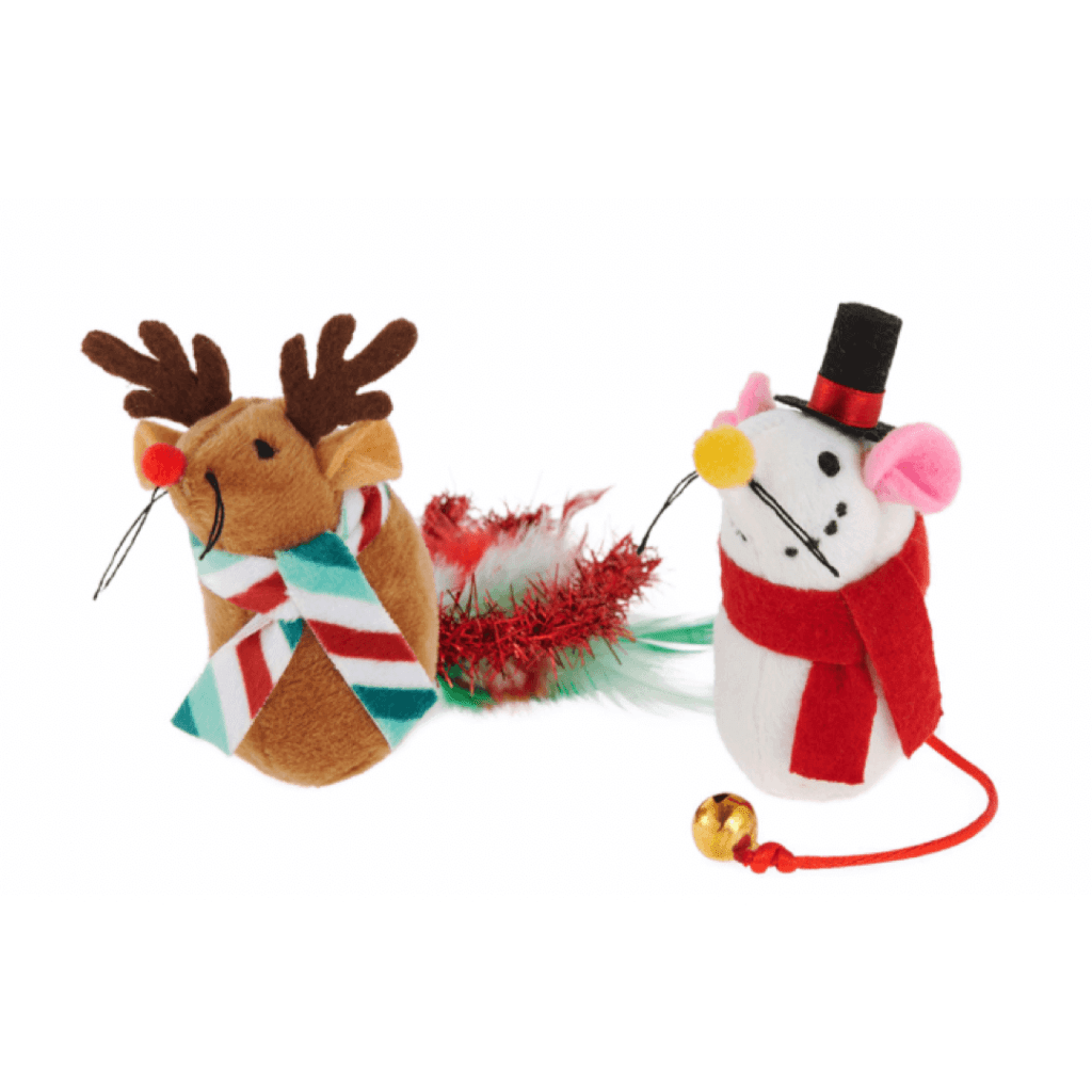 Merry & Bright™ Mice Cat Toys - 2 Pack