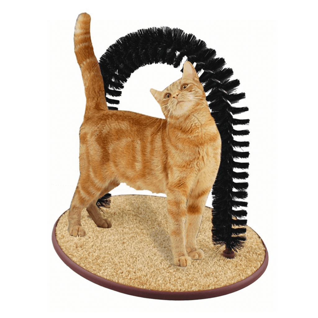 Perfect Cat Self Grooming Arch with Catnip Cat Toy