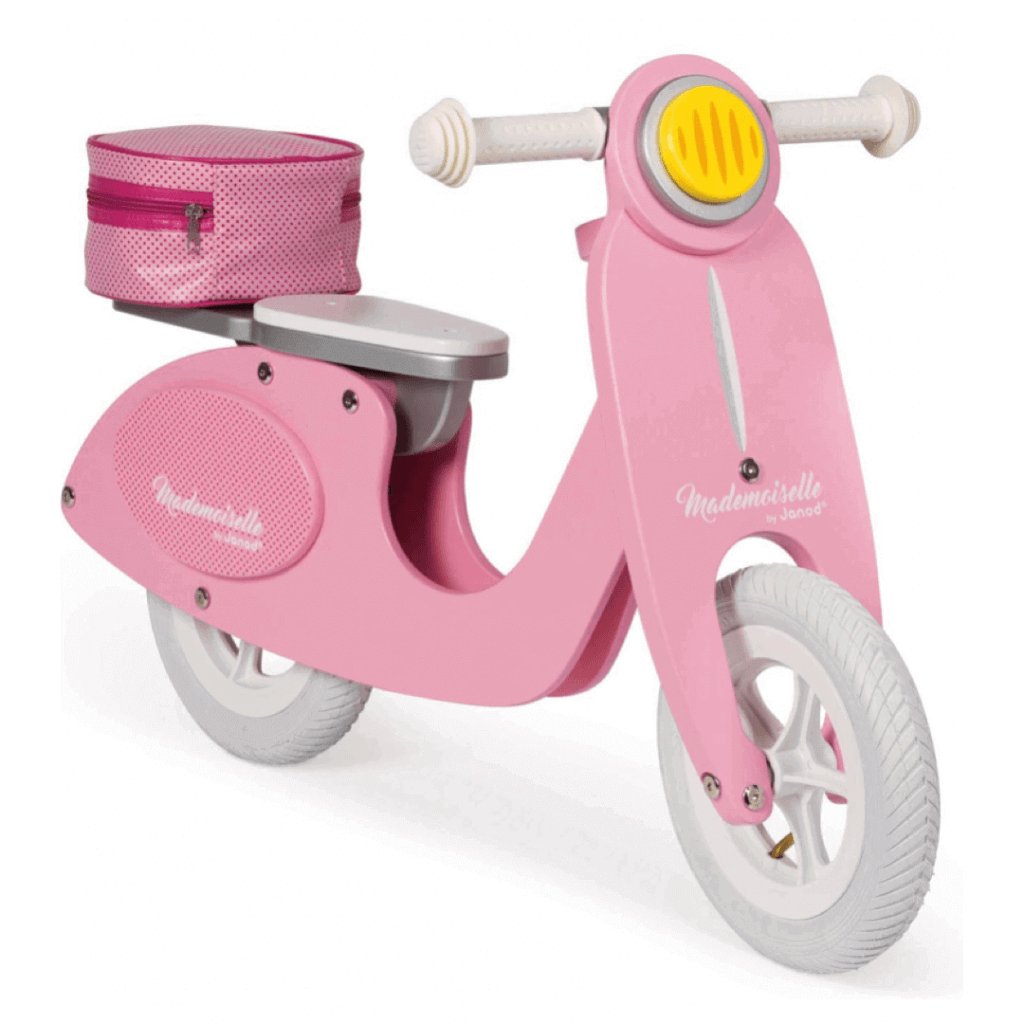 Pink Wooden Scooter - Christmas Gift