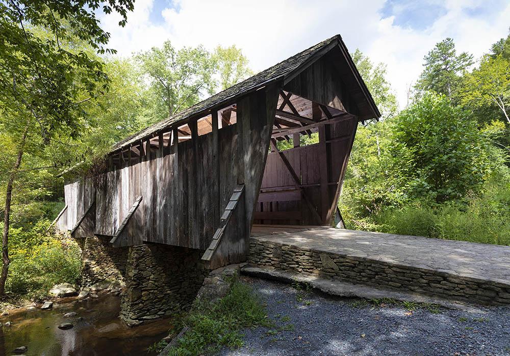 Pisgah covered bridge haunted, Guy Sagi, North Carolina, haunted, murder,