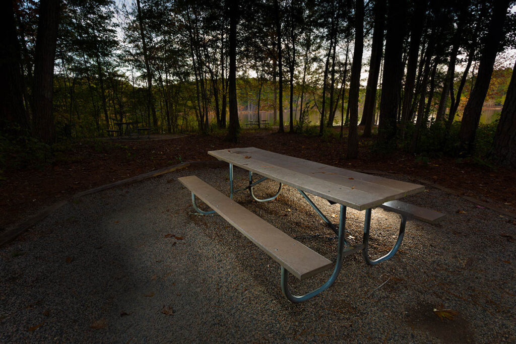 Camper trailer photography