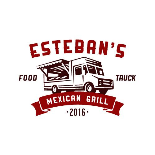 estebans-mexican-food-truck-logo-design-arcata-ca-humboldt-county-california
