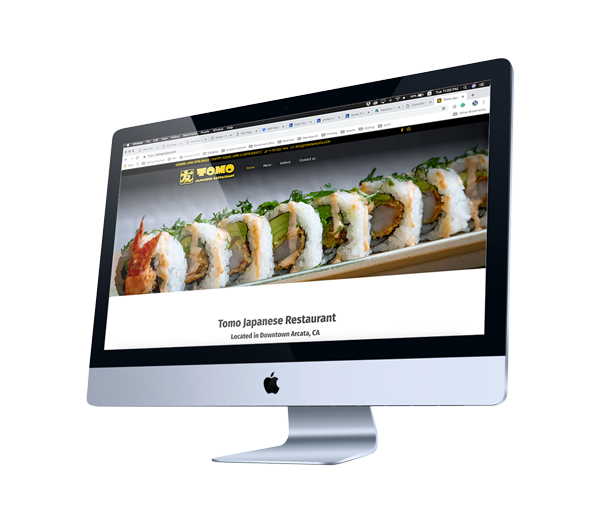 Japanese Restaurant Web Design - Arcata, CA