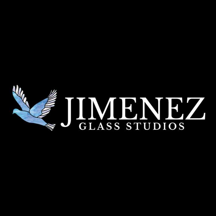 Logo Design for Jimenez Glass Studios in Arcata, California. Vector Artwork Illustration Based on Client Vision.
