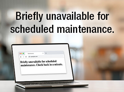 WordPress Error: Briefly Unavailable for Scheduled Maintenance