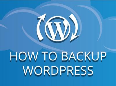 Generate a WordPress Website Backup (Multiple Methods)