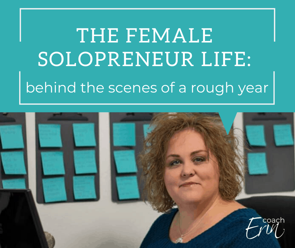 The Female Solopreneur Life: A Rough Year