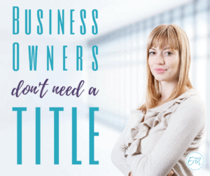 Business Owner Title