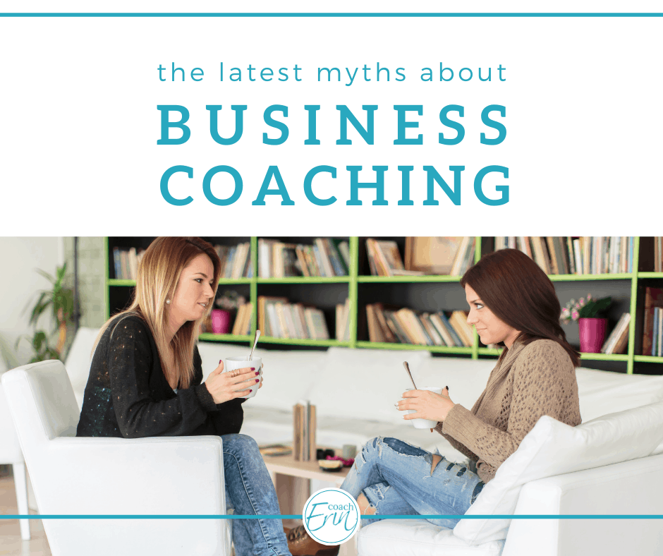myths about business coaching