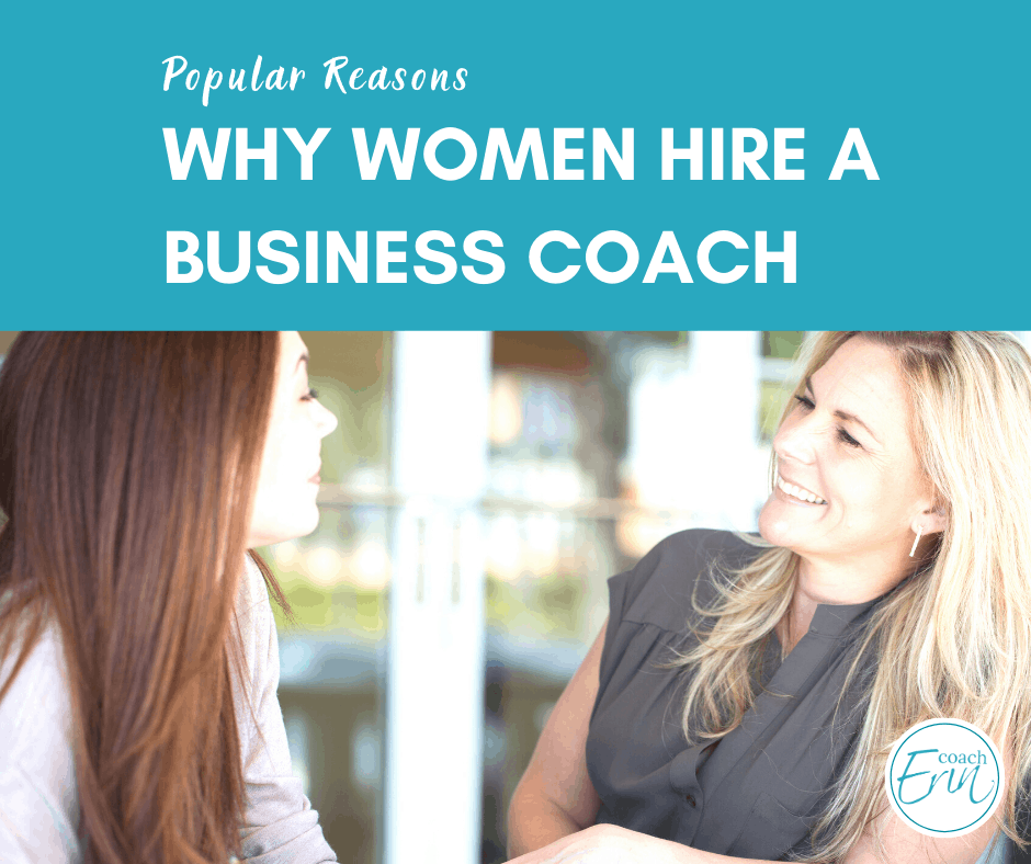 why hire a business coach: 5 most popular reasons