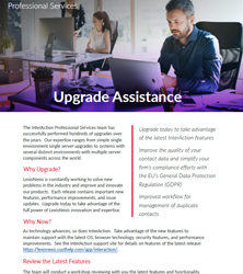 Upgrade Assistance