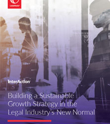 Building a Sustainable Growth Strategy in the Legal Industry's New Normal