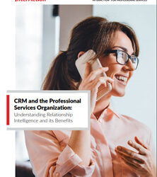 CRM and the Professional Services Organization