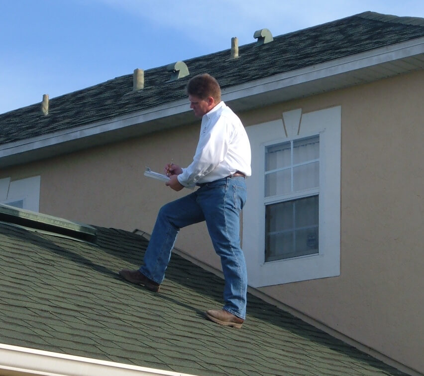 roof property inspection reports in Florida