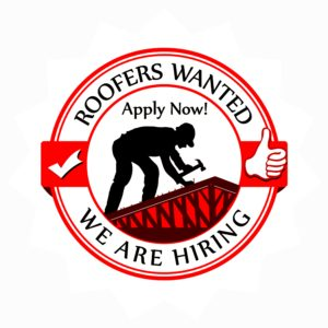 Jobs for Roofers. Now Hiring.