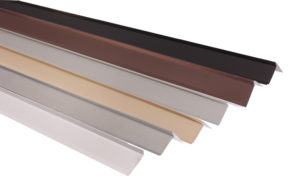 Roofing drip edge metal colors for roofs