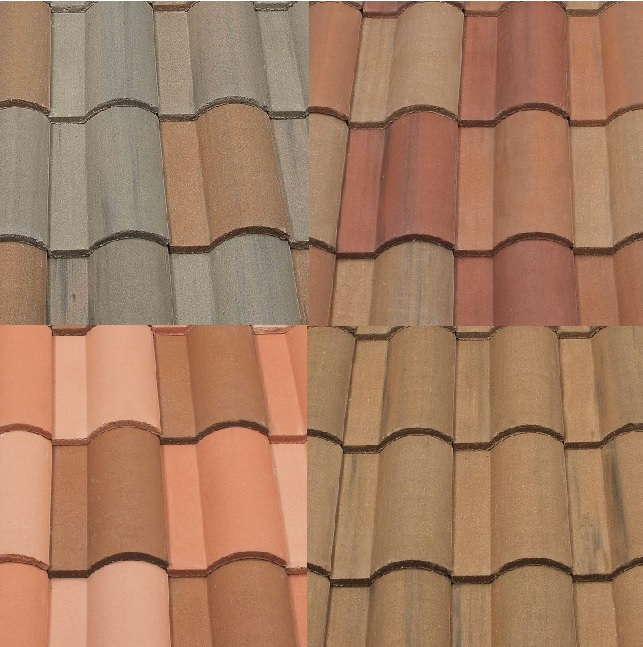 Affordable Roofing Tiles ׀ Spanish Roof Tile Colors