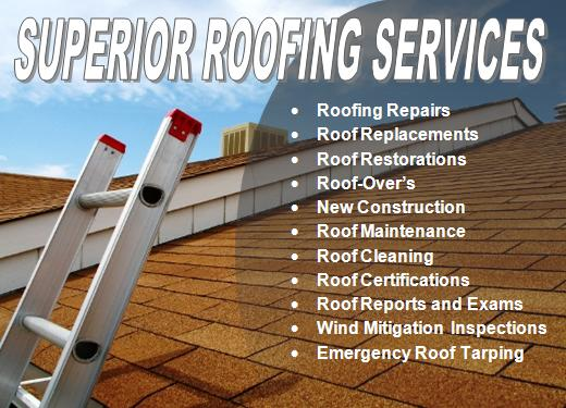 Get superior roofing services for your Florida home or business