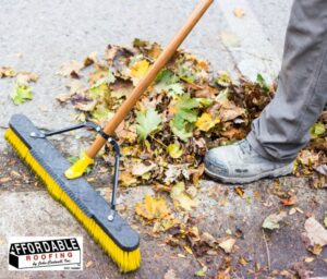 be sure to clean your gutters - Affordable Roofing can help