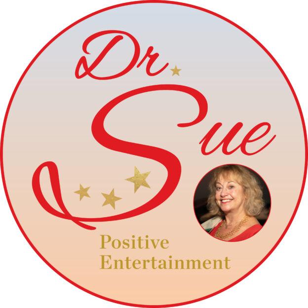 Dr. Sue Positive Entertainment Logo