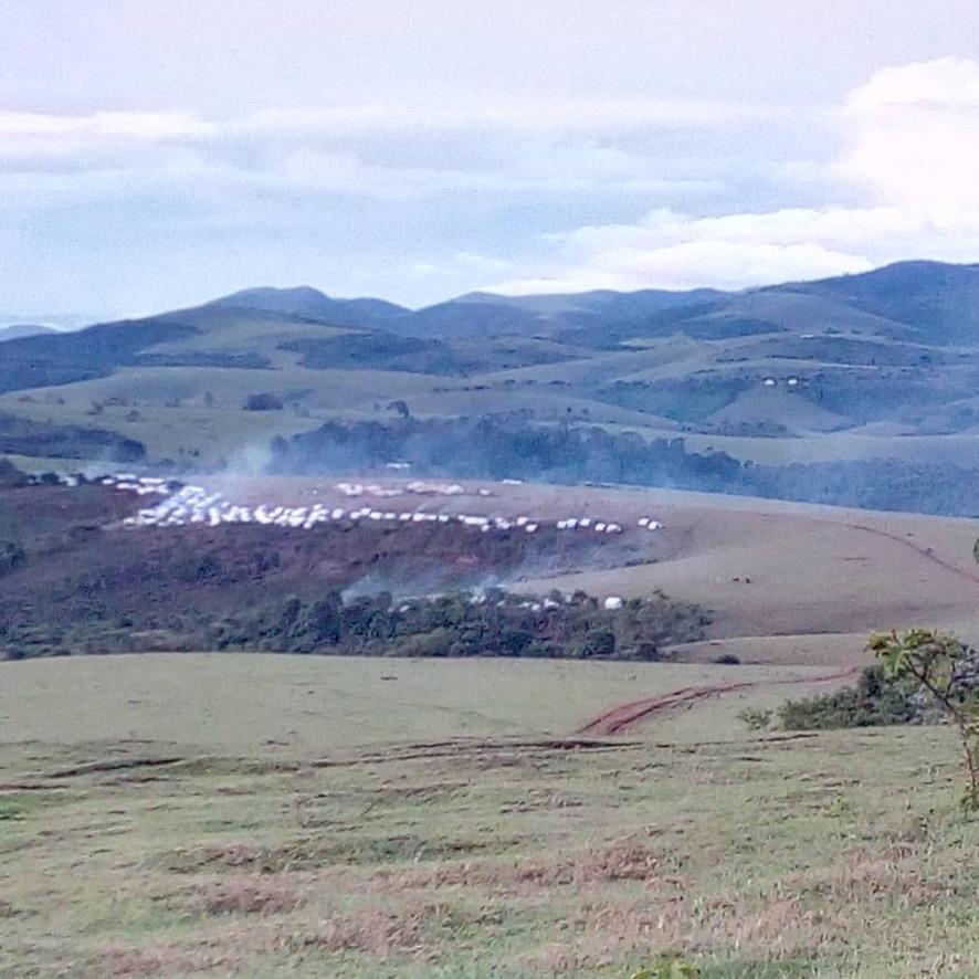 Third Attack on Minkenke Camp